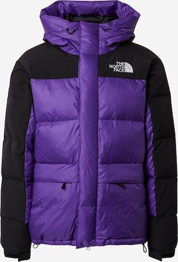 THE NORTH FACE Outdoorjas 'M HMLYN DOWN PARKA' in de kleur Donkerlila / Zwart, Productweergave