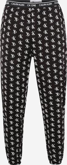 Calvin Klein Underwear Pyjamahose in schwarz / weiß, Produktansicht