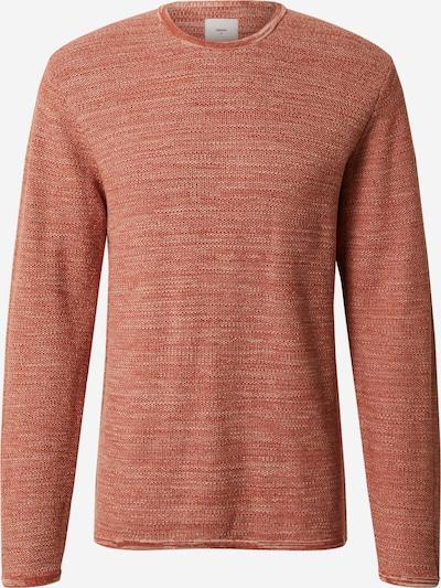 minimum Sweter 'Reiswood' w kolorze rdzawoczerwonym: Widok z przodu