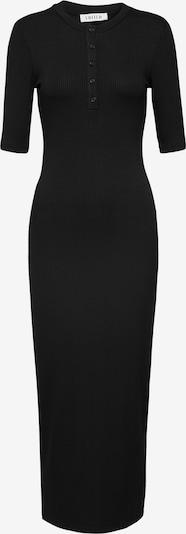 Rochie tricotat 'Robyn' EDITED pe negru: Privire frontală