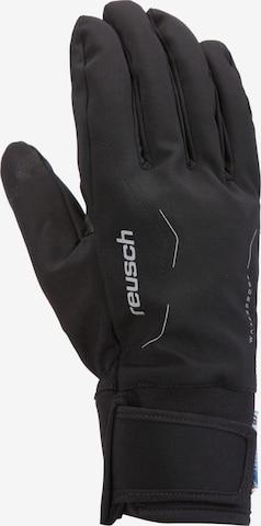REUSCH Fingerhandschuhe 'Diver' in Schwarz