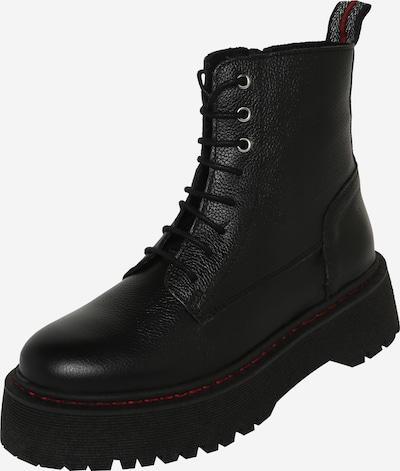 PS Poelman Stiefel in rot / schwarz, Produktansicht
