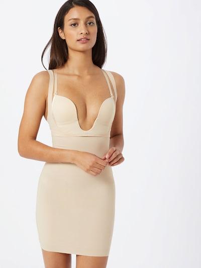 MAGIC Bodyfashion Dress in hellbeige: Frontalansicht