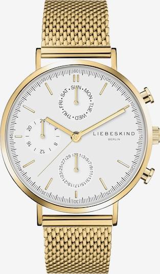 Liebeskind Berlin Uhr 'LT-0192-MM' in gold / weiß, Produktansicht