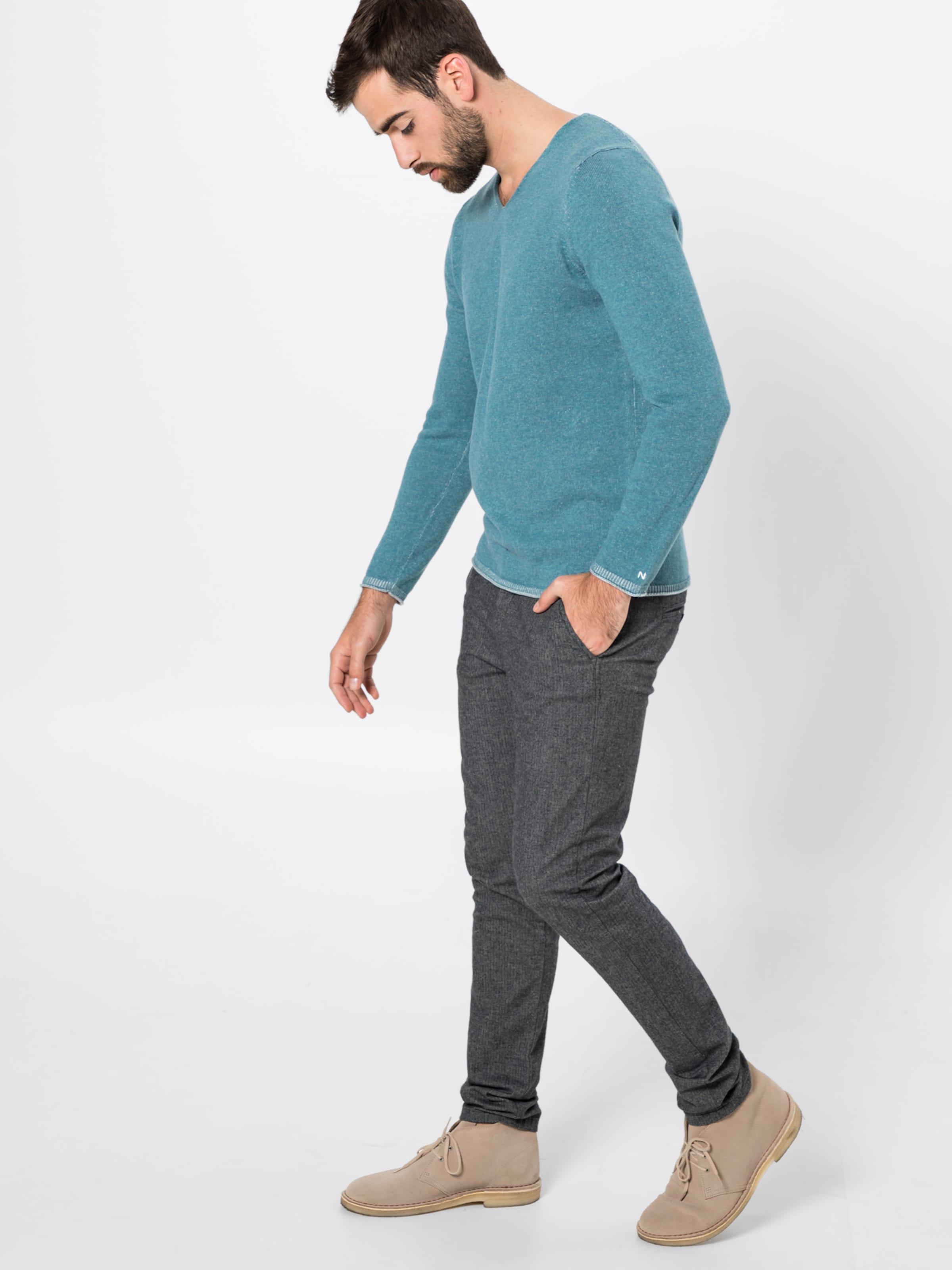 In Pullover Nowadays Nowadays Pullover Rauchblau SUzpqMV