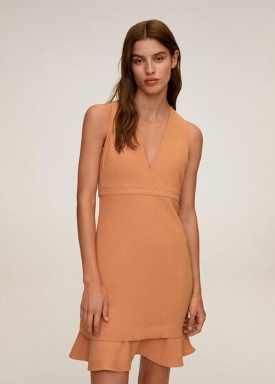 MANGO Kleid in nude, Modelansicht