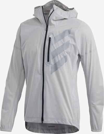 ADIDAS PERFORMANCE Regenjacke 'Terrex Agravic' in weiß, Produktansicht