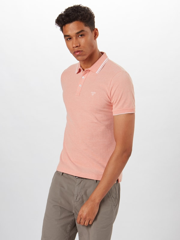 s.Oliver Poloshirt in apricot: Frontalansicht