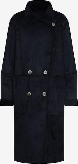 Rudeninis-žieminis paltas 'SHERLING' iš VILA , spalva - juoda: Vaizdas iš priekio