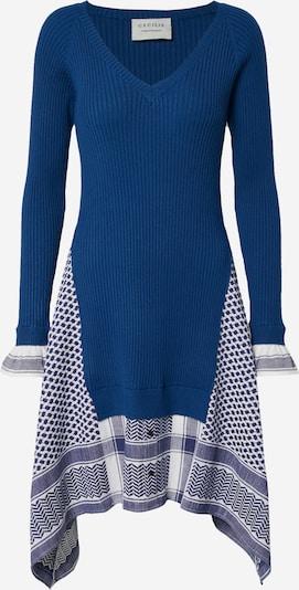 Cecilie Copenhagen Šaty 'Anelie' - námořnická modř / bílá, Produkt