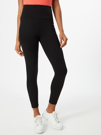 EDC BY ESPRIT Leggings in schwarz, Modelansicht