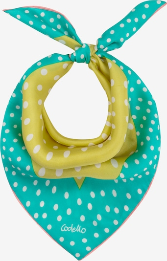 CODELLO Tuch in gelb / grün, Produktansicht