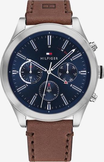 TOMMY HILFIGER Analog watch in marine / brown / silver, Item view