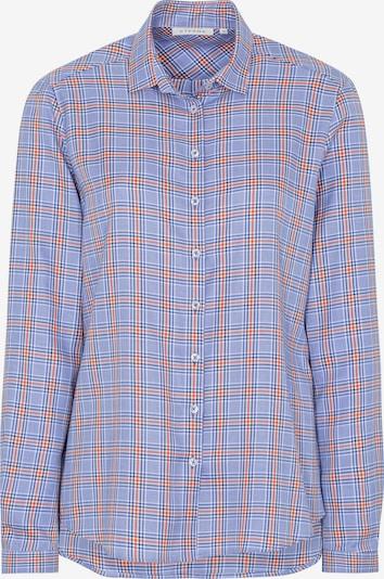 ETERNA Bluse in royalblau / hellblau / orange, Produktansicht