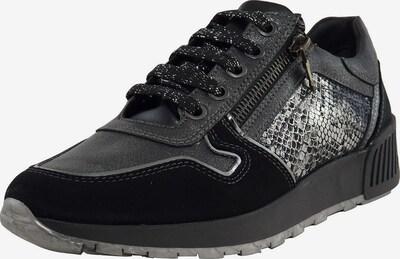 veganino Sneaker in schwarz / weiß, Produktansicht