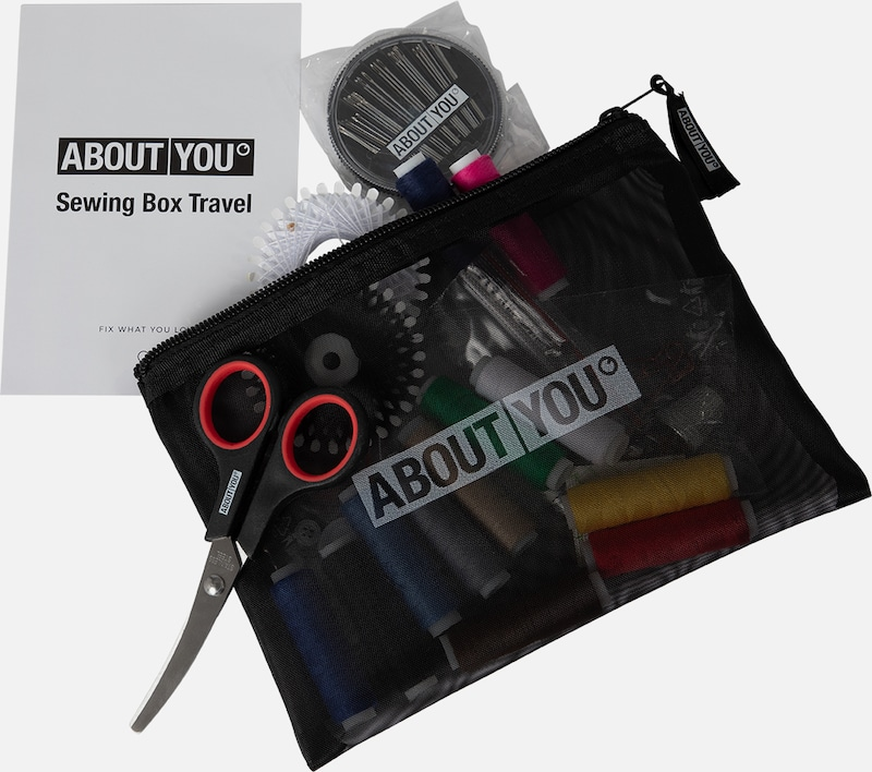 ABOUT YOU ABOUT YOU Reise Nähset in schwarz, Produktansicht