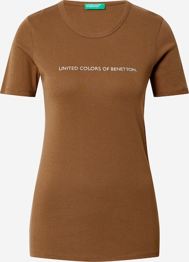 UNITED COLORS OF BENETTON Shirt in sepia: Frontalansicht