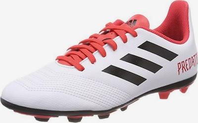 ADIDAS PERFORMANCE Fußballschuh 'Predator 18.4' in rot / schwarz / weiß, Produktansicht