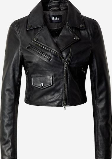 Ibana Prechodná bunda 'CLAUDETTE' - čierna: Pohľad spredu