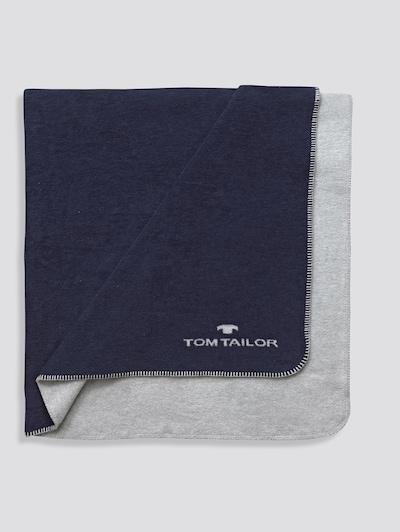 TOM TAILOR Deken in de kleur Blauw, Productweergave