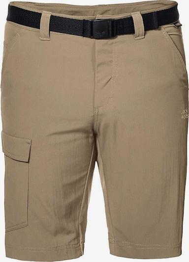 JACK WOLFSKIN Shorts 'Hoggar' in sand, Produktansicht