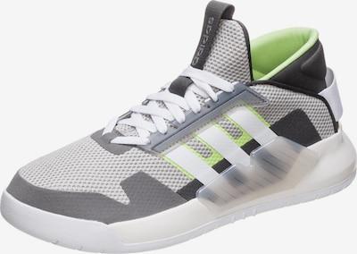 ADIDAS PERFORMANCE Sneaker 'BBall90s' in grau / neongrün / weiß, Produktansicht