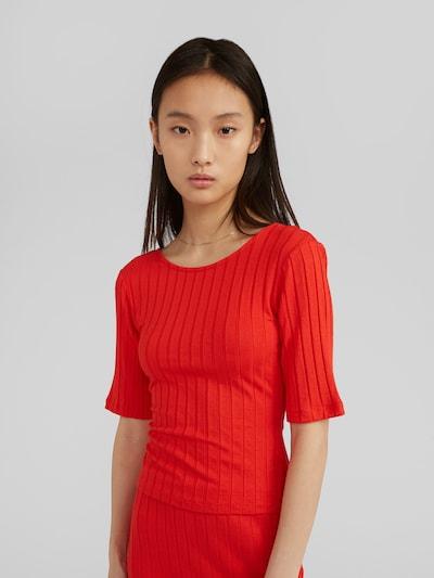 EDITED Tričko 'Elisha' - červená, Model/-ka