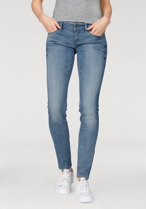 G-STAR RAW Skinny-fit-Jeans '3301 Deconst Low Skinny'