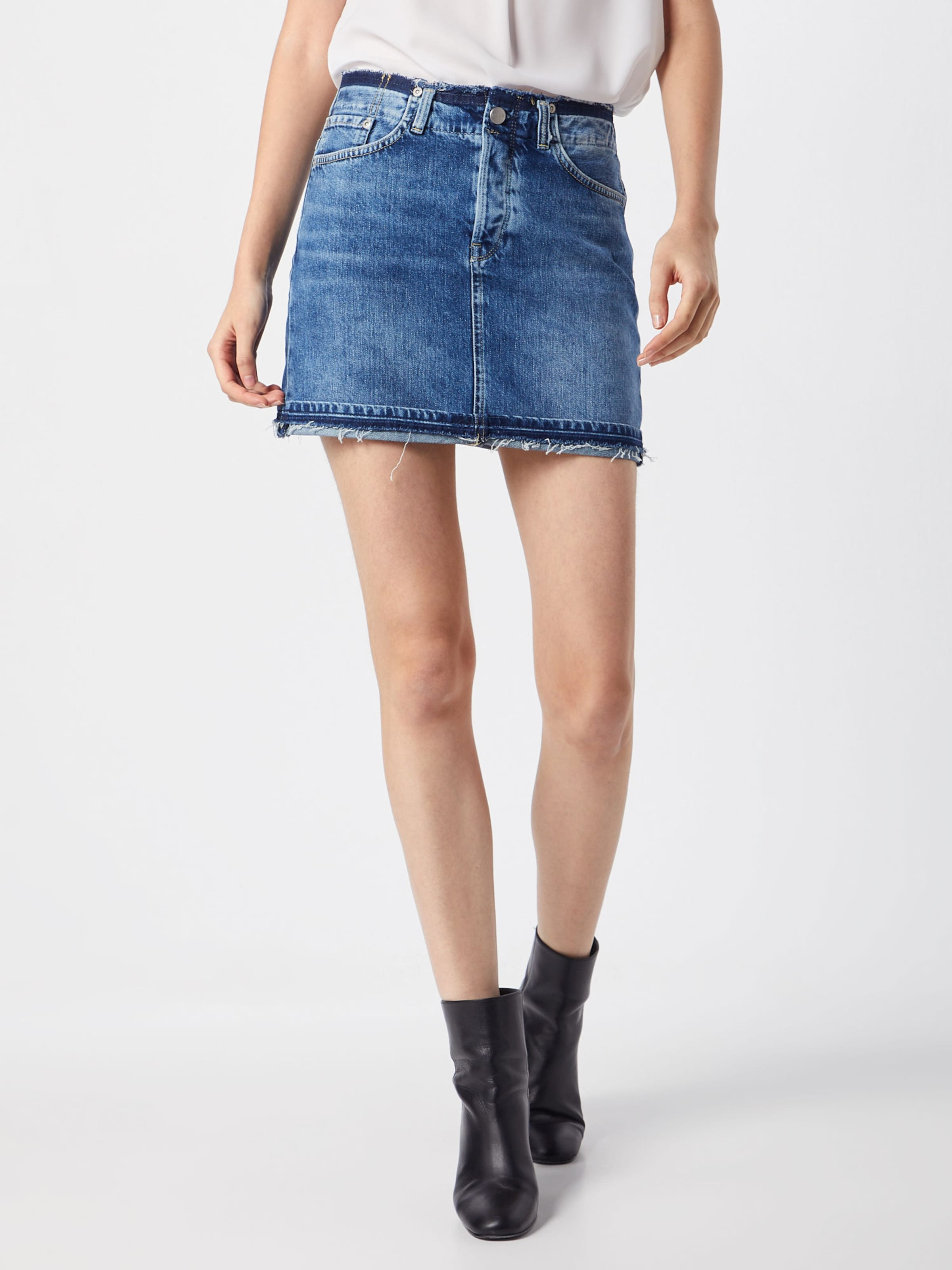 Bleu Pepe Jupe Denim Jeans En 'revive' R5L4Aj
