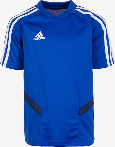 ADIDAS PERFORMANCE Trainingsshirt 'Tiro 19' in blau / weiß, Produktansicht