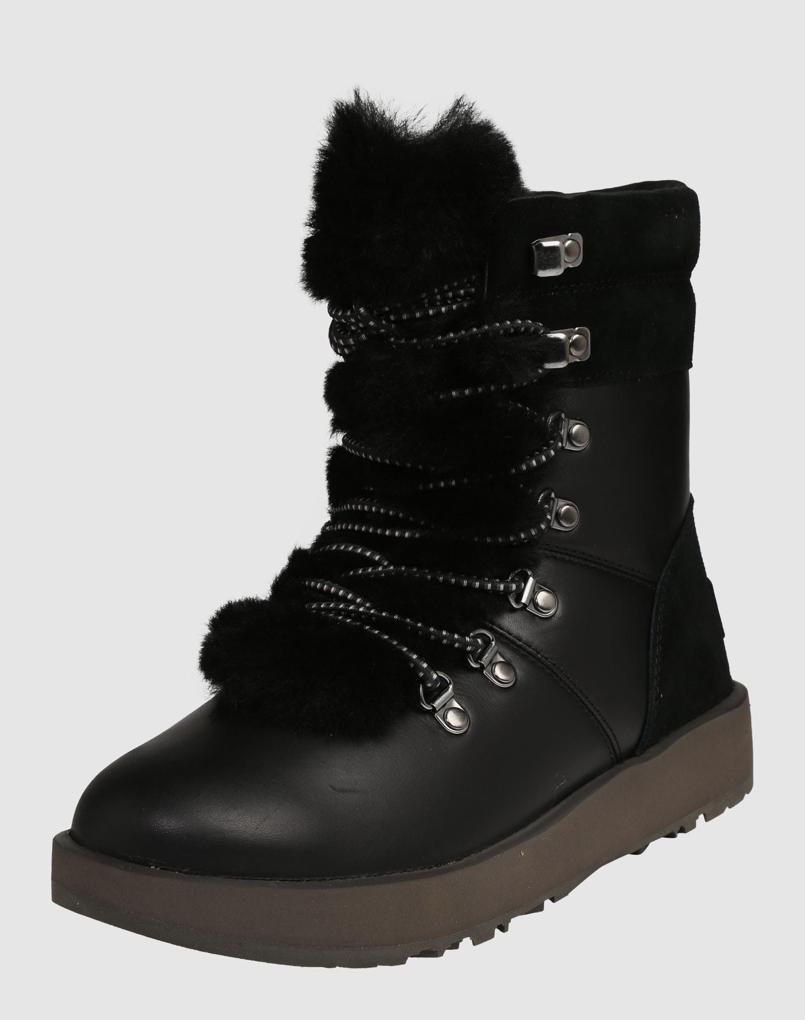ugg boot 39 viki waterproof 39 in schwarz about you. Black Bedroom Furniture Sets. Home Design Ideas