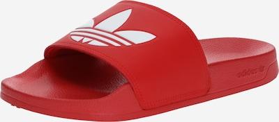 ADIDAS ORIGINALS Klapki 'Adilette Lite' w kolorze czerwony / białym, Podgląd produktu