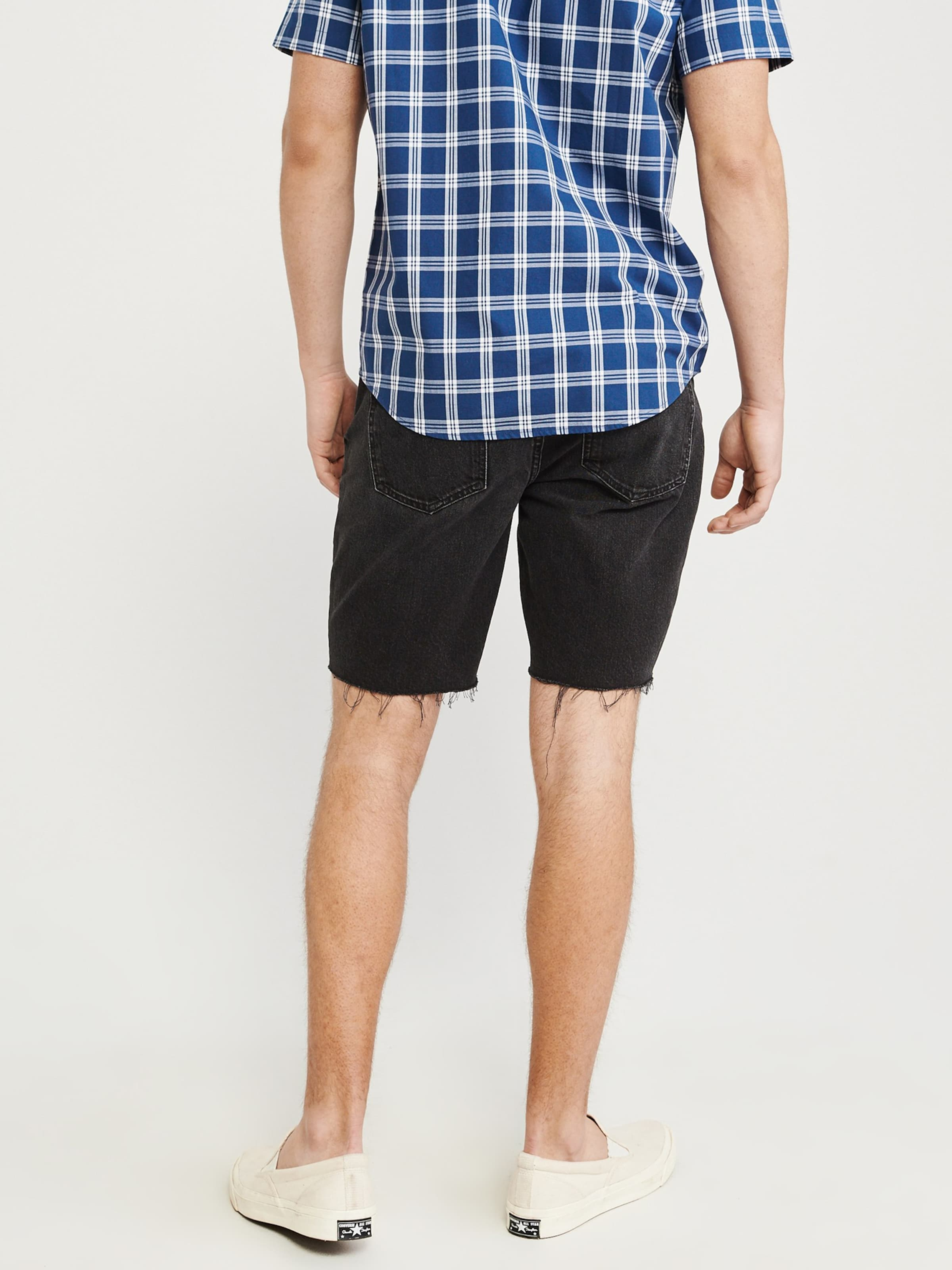Fitch Abercrombieamp; Schwarz Hose Abercrombieamp; In mnwN08