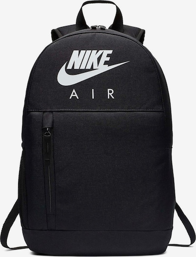 Nike Sportswear Backpack in Black / White, Item view