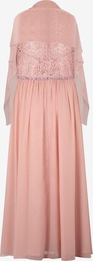 My Mascara Curves Suknia wieczorowa 'LACE TOP' w kolorze różanym: Widok od tyłu