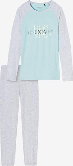 SCHIESSER Schlafanzüge in grau, Produktansicht