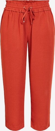 PIECES Kordelzug Culottes in rot, Produktansicht