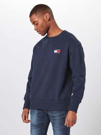 Megztinis be užsegimo iš Tommy Jeans , spalva - tamsiai mėlyna: Vaizdas iš priekio