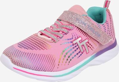 TOM TAILOR Sneaker in lila / rosa / silber, Produktansicht