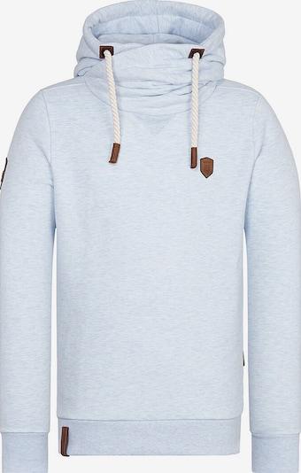 naketano Sweatshirt 'Küfürbaz Amk' in hellblau, Produktansicht