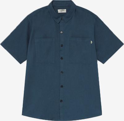 Thinking MU Hemd 'Blue Hemp' in blau, Produktansicht