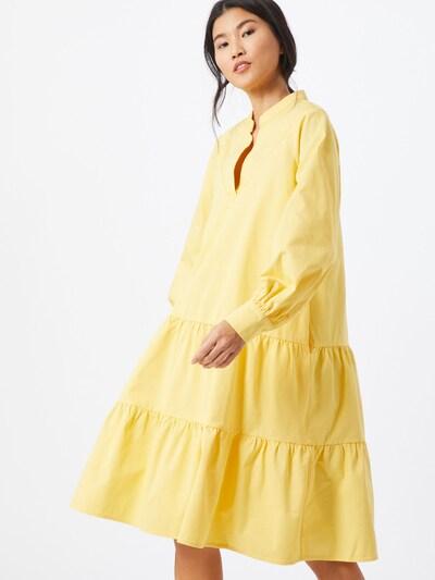 Crās Kleid 'Luciacras' in gelb, Modelansicht