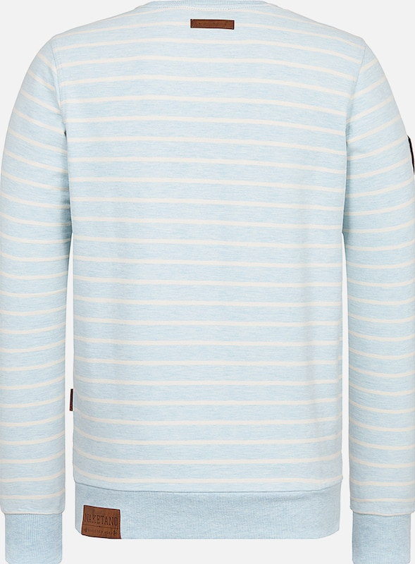 naketano Sweatshirt 'Meidericher' in hellblau | ABOUT YOU