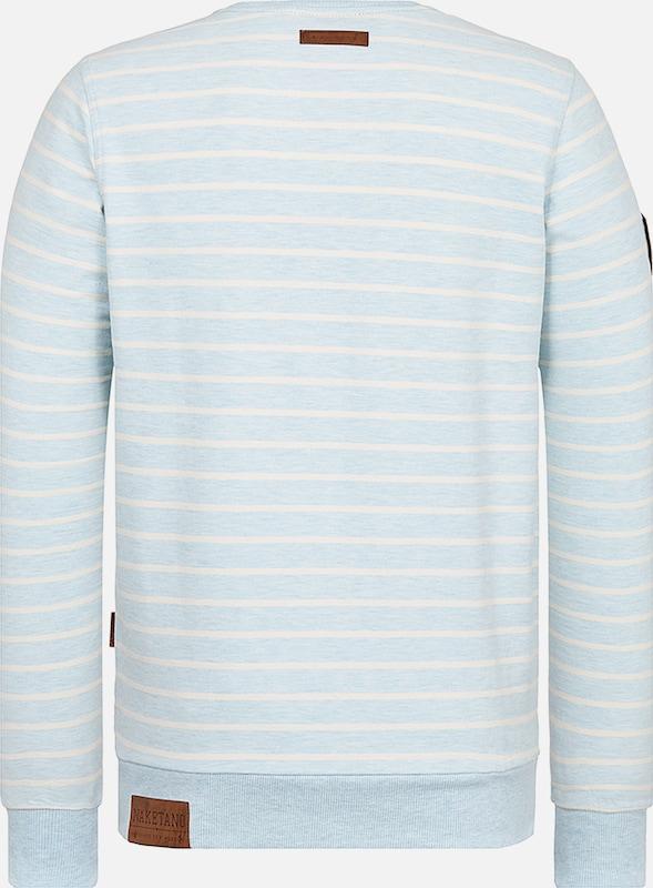 Clair 'meidericher' shirt Sweat Bleu Naketano En LqSzjVGUMp