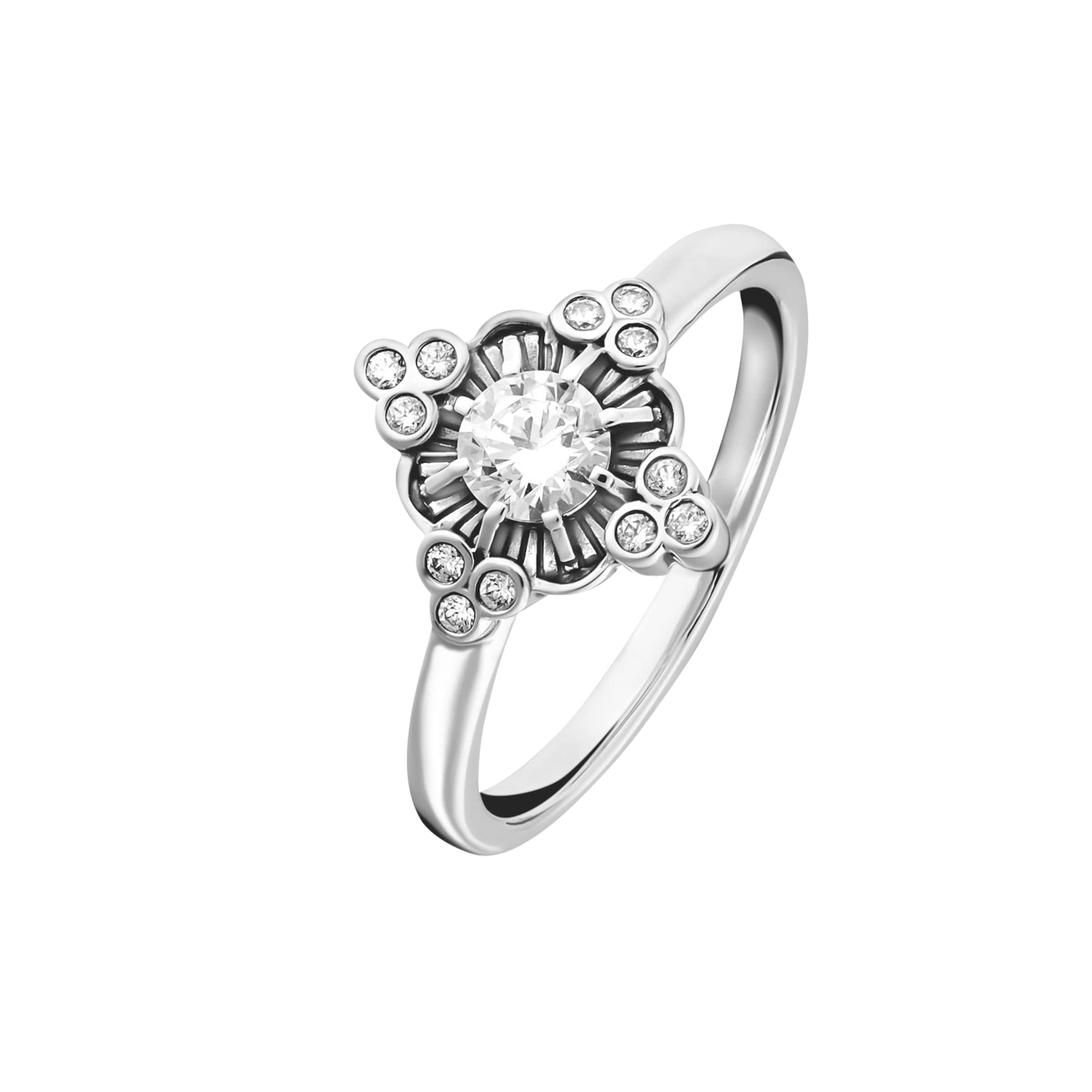 Ring 'royalty In Silber Weiss' Thomas Sabo xrBedoWC