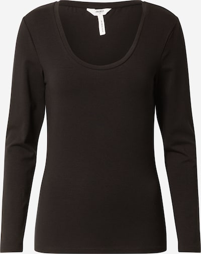 OBJECT Pullover 'KATE' in schwarz: Frontalansicht