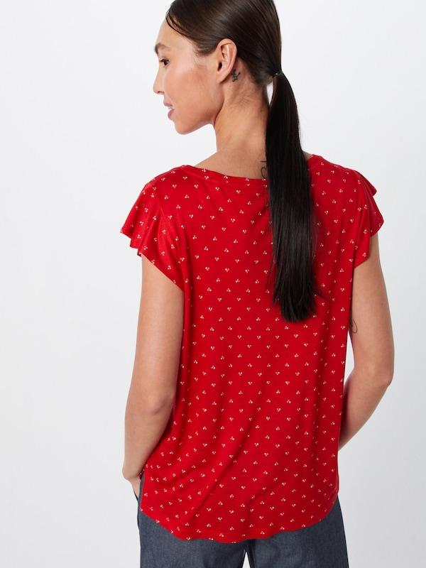 shirt Ros' En Opus 'solliana Threedots RougeBlanc T KFJc3Tl1