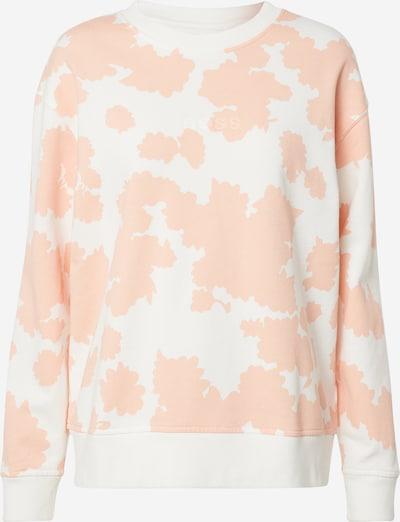 BOSS Sweatshirt 'Tanatural' in orange / weiß, Produktansicht