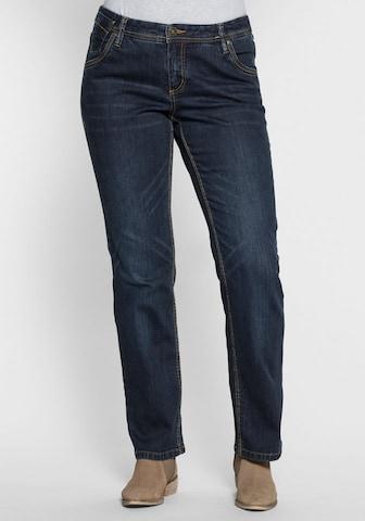 SHEEGO Jeans 'Lana' in Blau