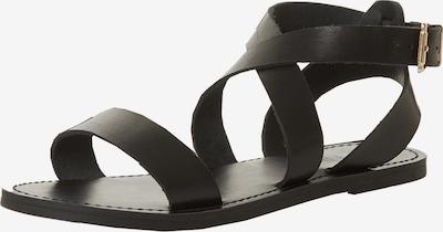 Dune LONDON Sandale 'LEELAH' in schwarz, Produktansicht